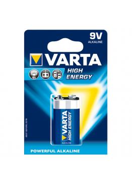Piles Varta HIGH ENERGY 6LR61 9V