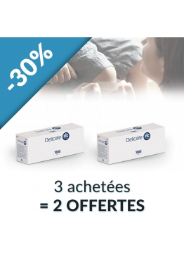 PACK 3 + 2 BOITES OFFERTES PANSEMENTS PIC DELICATE