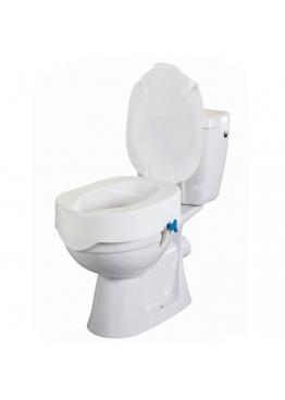 Surélévateur de toilette avec couvercle