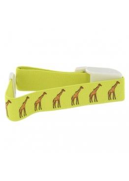 Garrot clipcomed jaune girafe