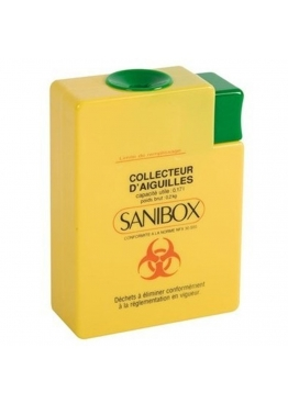 COLLECTEUR SANIBOX 250ml