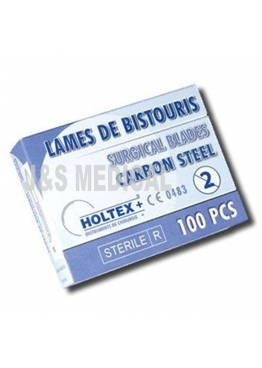 LAMES DE BISTOURIS STERILES HOLTEX
