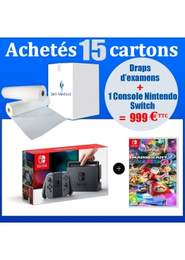 Colis de drap avec Console Nintendo Switch