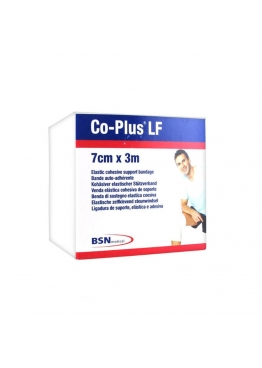 Bande cohésive de contention Co-Plus LF® Sans Latex