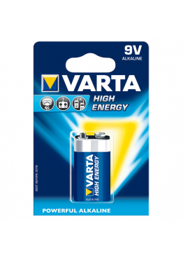 Piles Varta HIGH ENERGY 6LR61 9V