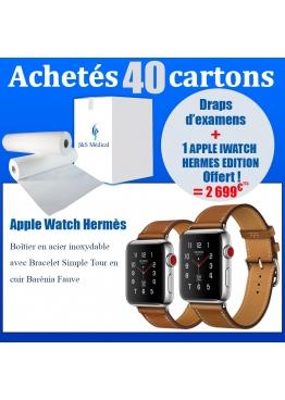 Colis de drap avec  Apple Watch Hermès OFFERT